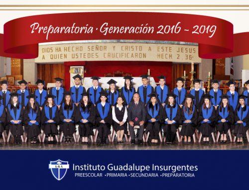 Generación 2016-2019 PREPARATORIA