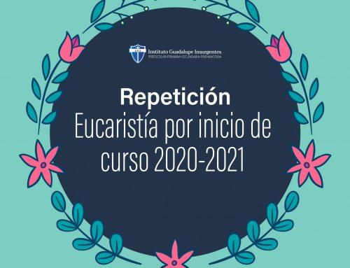 Eucaristía por inicio de curso 2020-2021